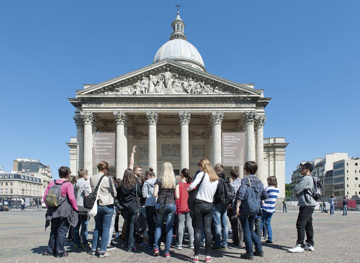 Le Panthéon © Paris Tourist Office - Photographe : Daniel Thierry