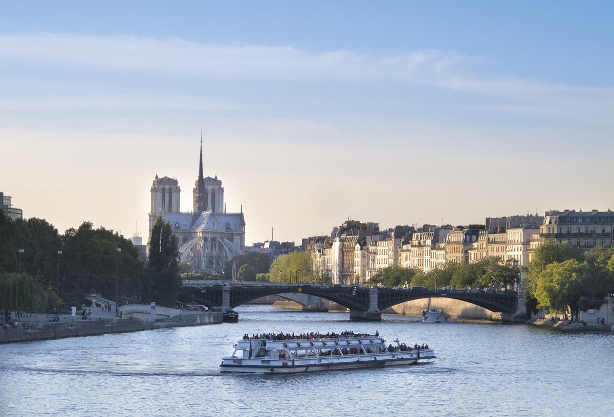 La Seine depuis le pont d'Austerlitz© Paris Tourist Office - Photographe : Annemiek Veldman