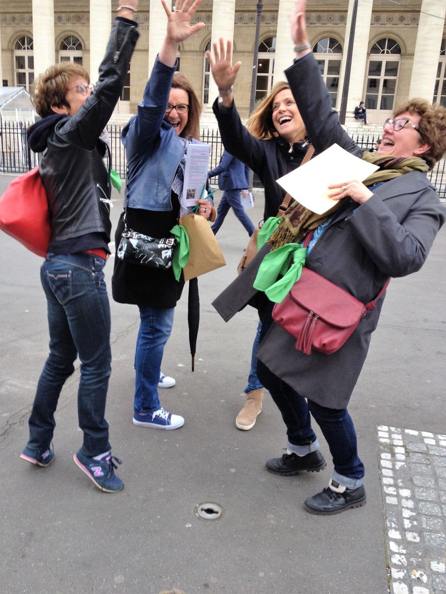 rallye team-buiding @parispourunjour