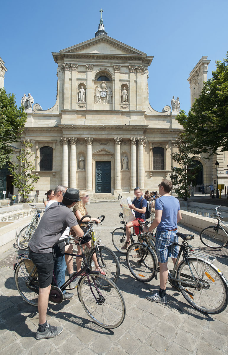 visite-velo © Paris Tourist Office