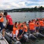 Team-building en zodiac sur la Seine