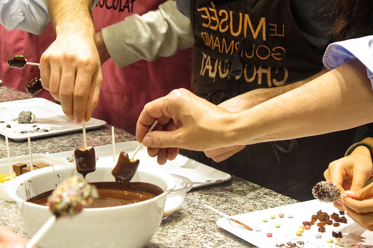 team-buiding chocolat ©parispourunjour