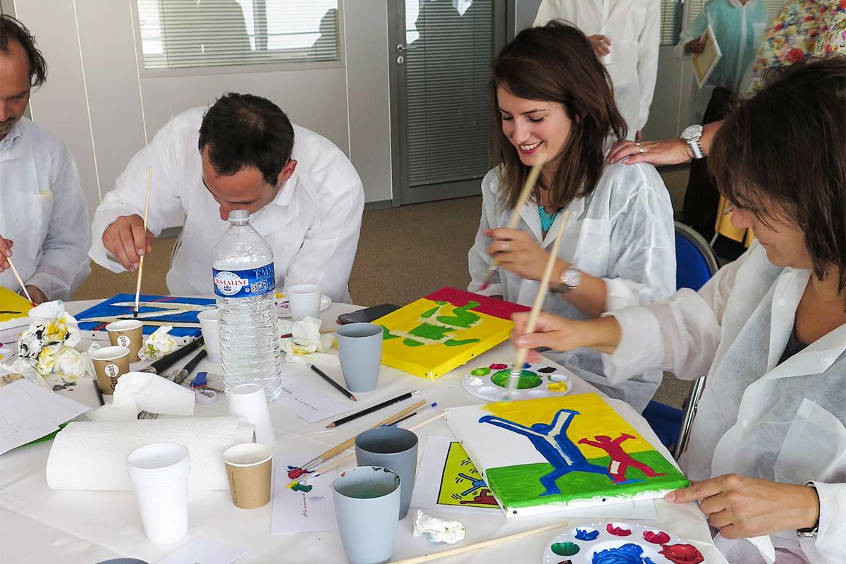 team-building peinture ©parispourunjour