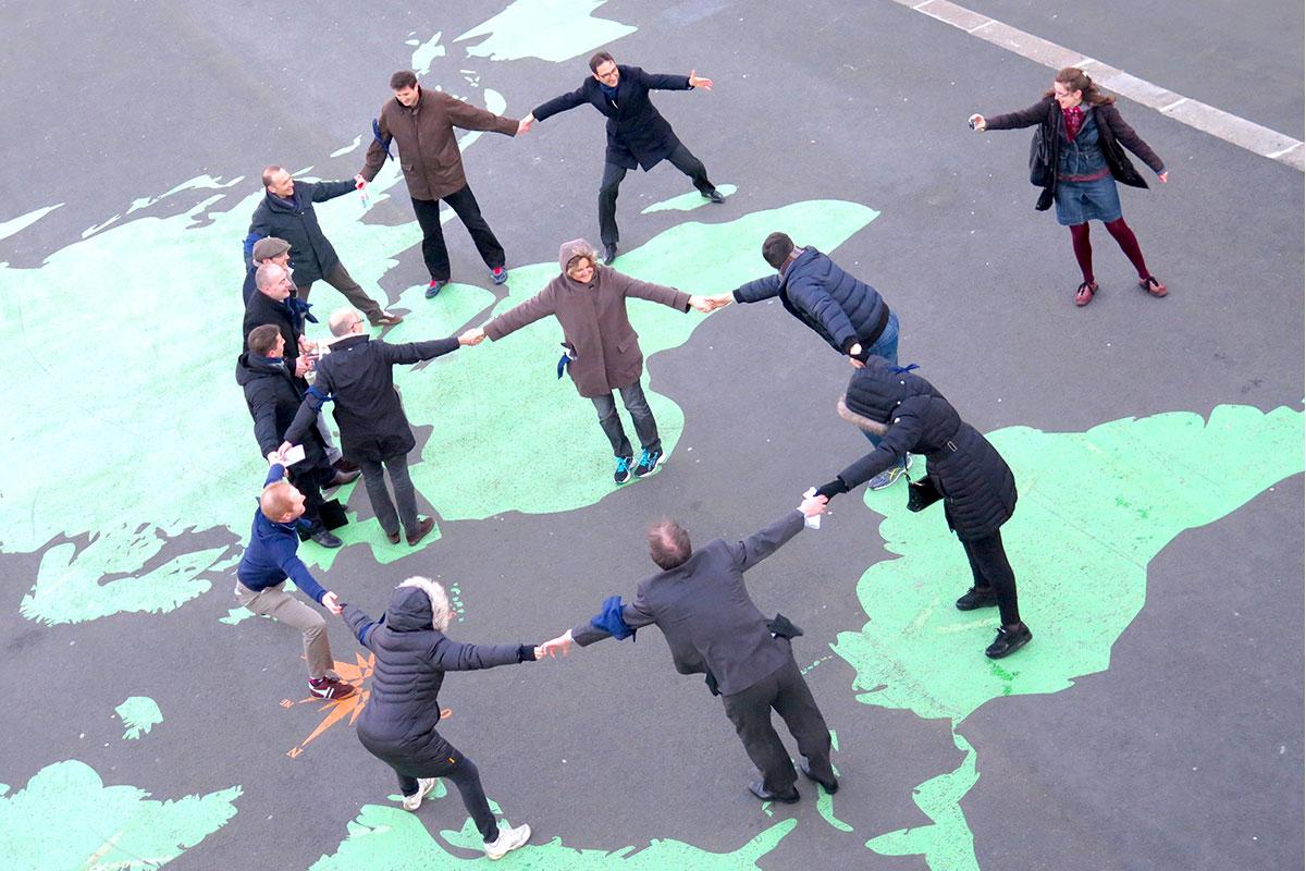 team-building rallye ©parispourunjour.fr