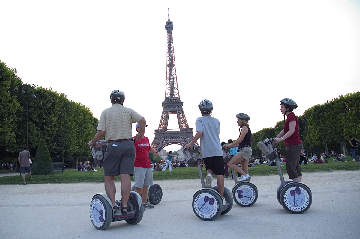 City Segway tour © Paris Tourist Office - Photographe : Amélie Dupont